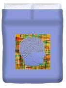 The Steampunk Brain Duvet Cover