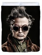 The Steampunk - Sci-fi Duvet Cover by Gary Heller