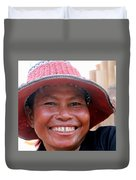 The Sticky Rice Lady Duvet Cover