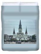 The St.louis Cathedral Duvet Cover