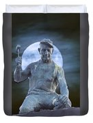 The Stone Mason Duvet Cover