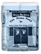 The Stone Pony Cool Duvet Cover