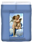 The Story Of Cupid And Psyche Duvet Cover