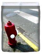 The Street Talks  Duvet Cover