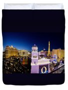the Strip Las Vegas Duvet Cover