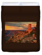 The Strong Tower Duvet Cover