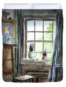 The Studio Of Juliet Pannett Duvet Cover