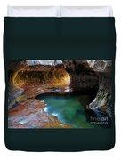 The Subway Sacred Light Duvet Cover