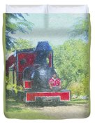 The Sugar Train Duvet Cover