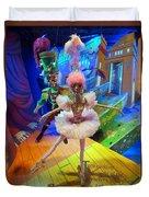 The Sugarplum Fairy Duvet Cover