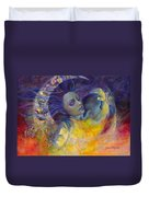The Sun The Moon And The Truth Duvet Cover