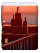 The Sun The Sound And The Sky Duvet Cover