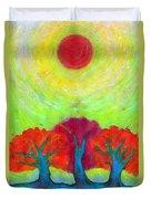 The Sun Three Duvet Cover