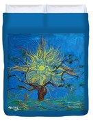 The Sun Tree Duvet Cover