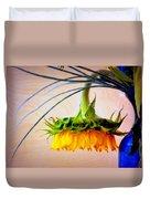 The Sunflower Speaks Duvet Cover