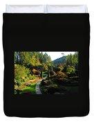 The Sunken Garden Duvet Cover