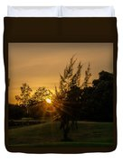 The Sunset In The Mountain IIi Duvet Cover