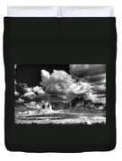 The Superstitions - Black And White  Duvet Cover