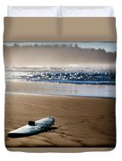 The Surf Is No Longer Up Duvet Cover