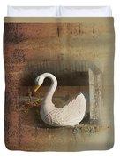 The Swan Planter Duvet Cover