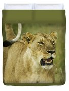 The Tail Rules Duvet Cover