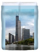 The Tall Buildings Duvet Cover