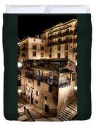The Tall Houses Of Albarracin Duvet Cover