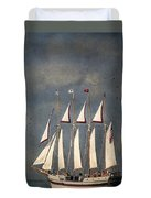 The Tall Ship Windy Duvet Cover