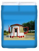 The Teapot Dome  Duvet Cover by Jeff Swan