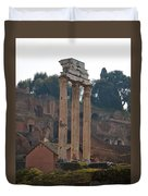 The Temple Of Castor And Pollux Duvet Cover