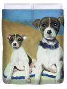 The Terriers Duvet Cover