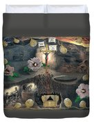 The Testimony Of Ron Wyatt - Ark Of The Covenant Duvet Cover