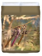 The Three Dragonflies  Duvet Cover