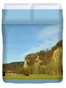 The Three Hills  Duvet Cover