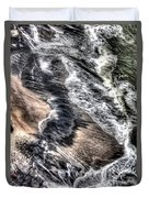 The Tide From Above Duvet Cover
