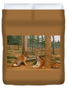 The Tigers Duvet Cover