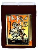 The Tik Tok Of Oz Duvet Cover
