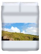 The Tin Mines Of Cornwall Duvet Cover