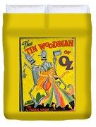 The Tin Woodsman Of Oz Duvet Cover