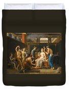 The Toilet Of Venus Duvet Cover