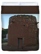The Torreon In Lincoln City New Mexico Duvet Cover by Jeff Swan