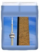 The Tower And The Stack Duvet Cover