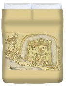 The Tower Of London, From A Survey Made Duvet Cover