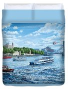 The Tower Of London Duvet Cover