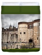 The Tower Of London Uk The Historic Royal Palace And Fortress Duvet Cover