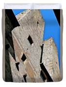 The Towers Of San Gimignano Duvet Cover