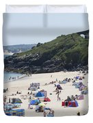 The Train Line Porthminster Duvet Cover