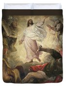 The Transfiguration Of Christ Duvet Cover