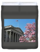 The Treasury Building Duvet Cover