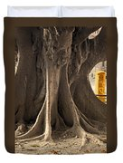 The Tree And The Post Box Duvet Cover